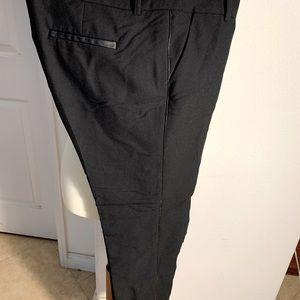 Anthropologie Black Skinny Dress Pants 8